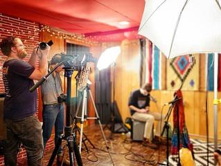 Shooting with Rosa Linda