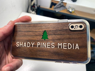 Toast Shady Pines phone cover