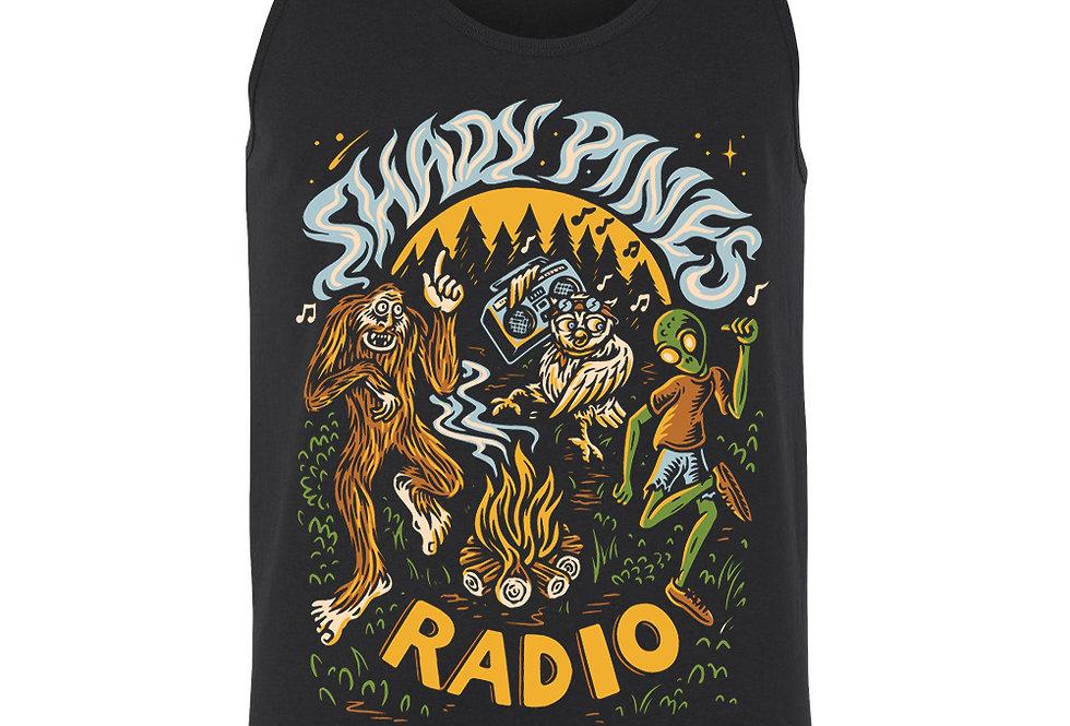 Shady Pines Radio Masculine Tanks PRE-ORDER (Full Color Bonfire)