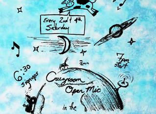 Tonight! Cruzroom Open Mic