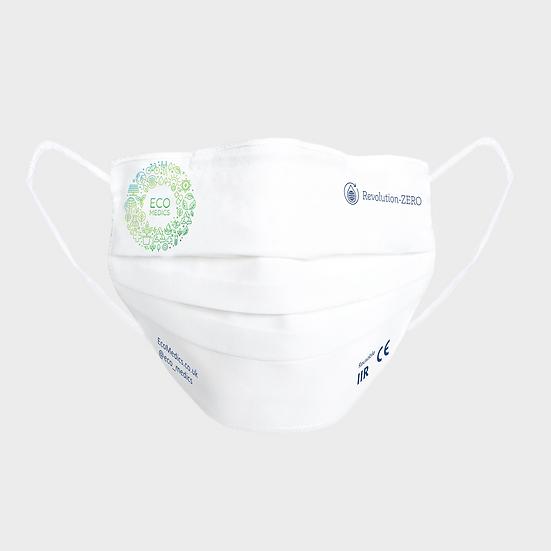 3-pack 3-pleat 40 wash ear loop EcoMedics mask