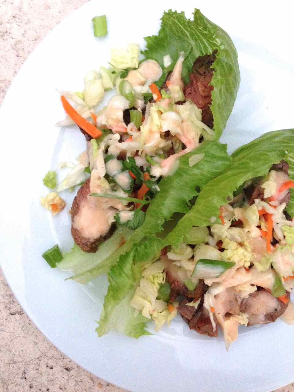 Korean Flank Steak Lettuce Wraps c2014 TRC 1.jpg