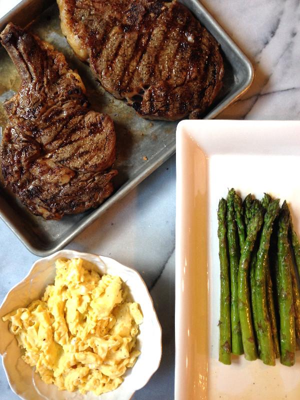 Grilled Rib-eye steaks c2014 TRC 1