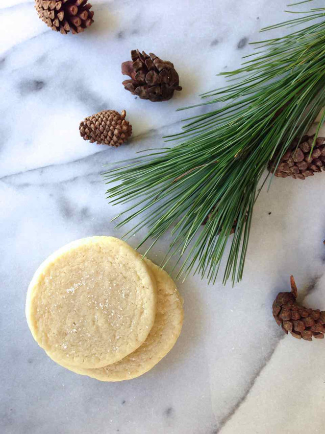 GRANDMOTHER'S OLD-FASHIONED TEA CAKE COOKIES