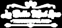 La Bella Logo - White - Transparent Back