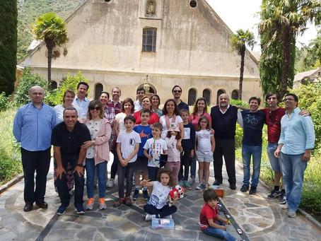 Dia da Família Carmelita no Santo Deserto de São José em Batuecas