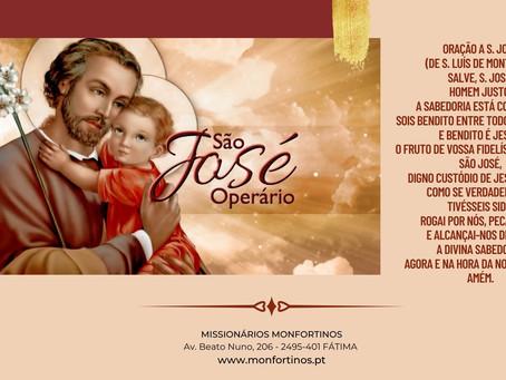 """Dia de São José Operário com Luís de Montfort: """"Saúdo-te, José ..."""""""