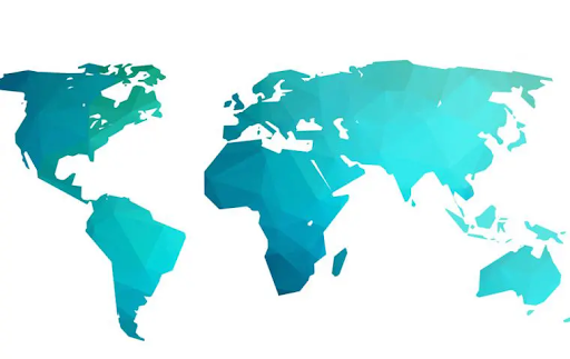 Blue Zones world map