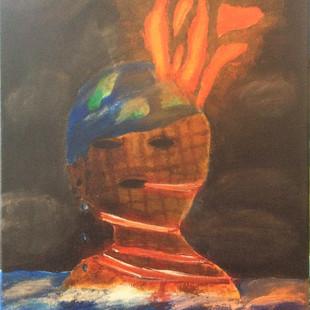 Climate change artwork