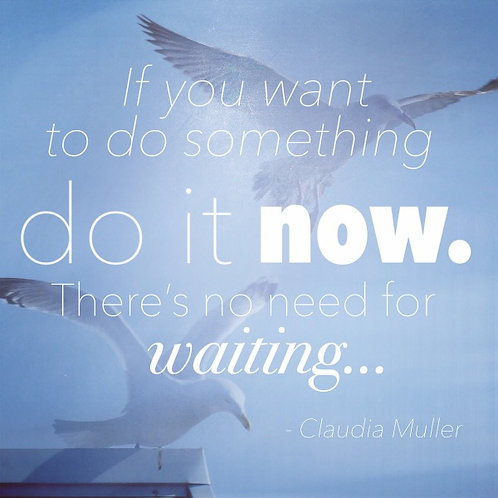 Greeting Card - Do it now