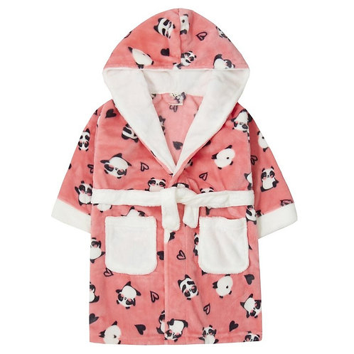 Panda Dressing Gown