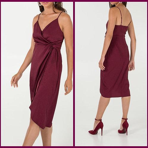 Burgundy Cami Dress