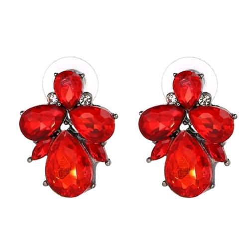 """""""Betty"""" earring in Red"""