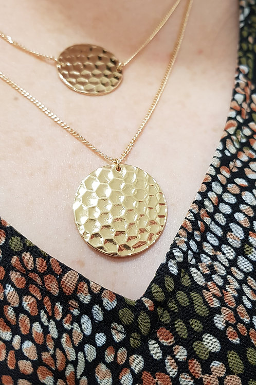 Honeycomb Texture Double Chain