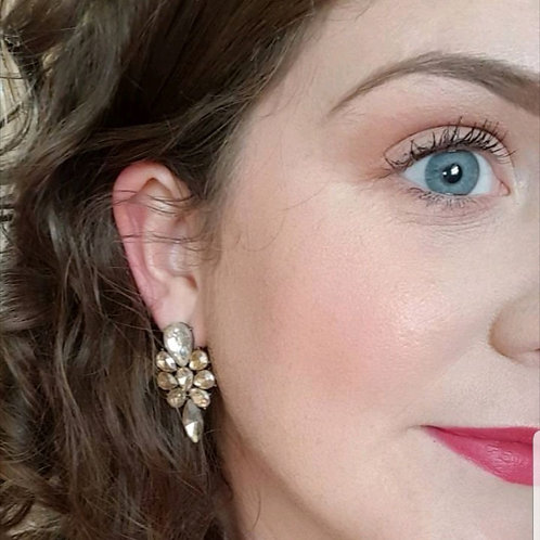 """""""SUSIE"""" Earring in Gold"""