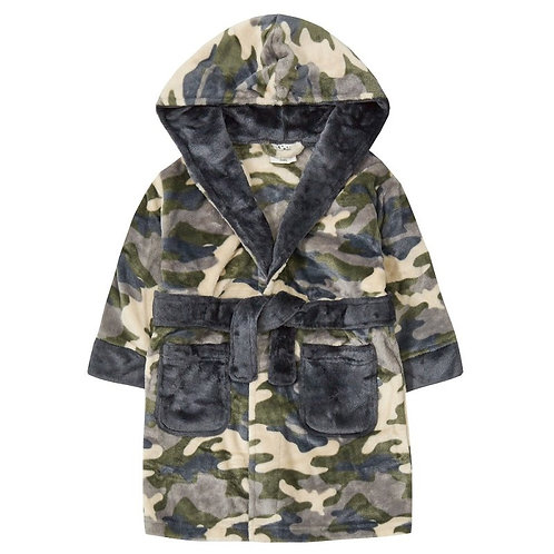 Camouflage Dressing Gown
