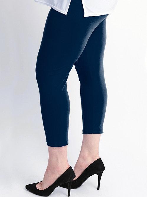 Basic Navy Viscose Legging