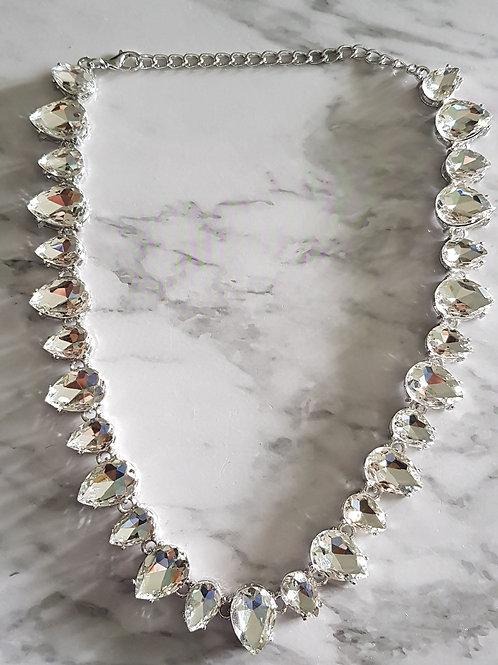 """""""EVA"""" Necklace in Silver"""