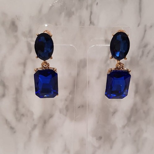 """ROISIN"" Earring in Blue"