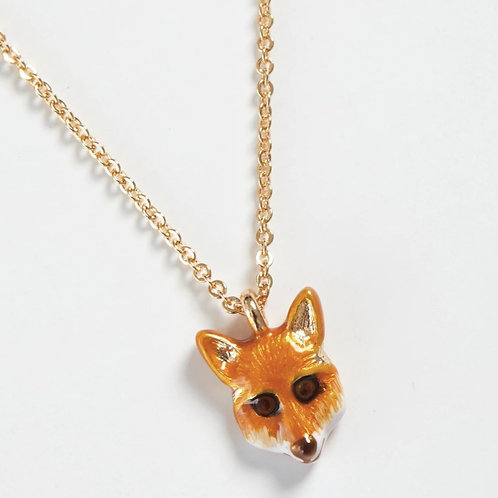 Enamelled Fox Chain