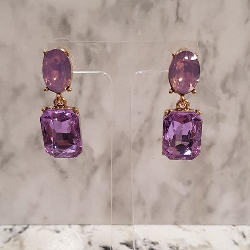 """""""ROISIN"""" Earring in Lilac"""