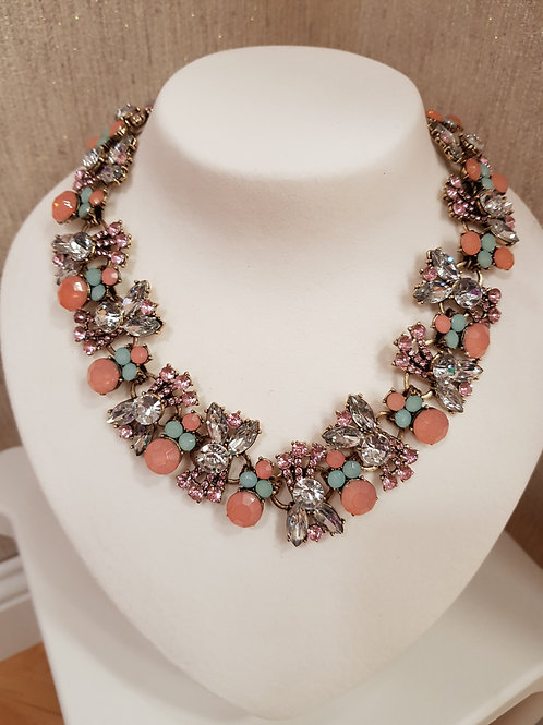 """""""Aisling"""" Necklace in Light Pink"""