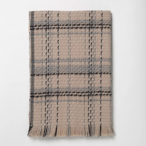 Taupe Woven Scarf