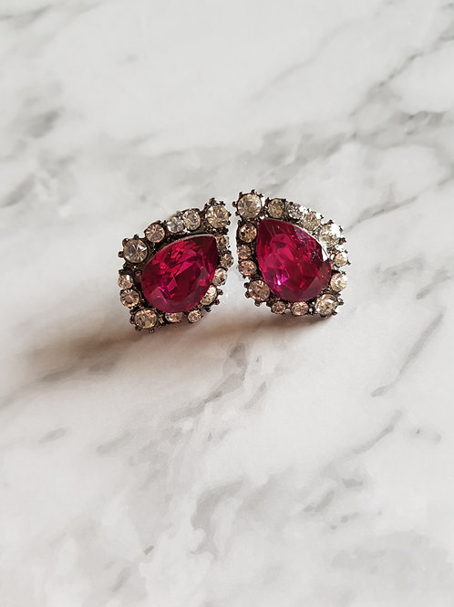 """ZARA"" Earring in Rose"