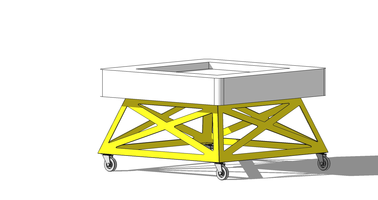 chassis maquette