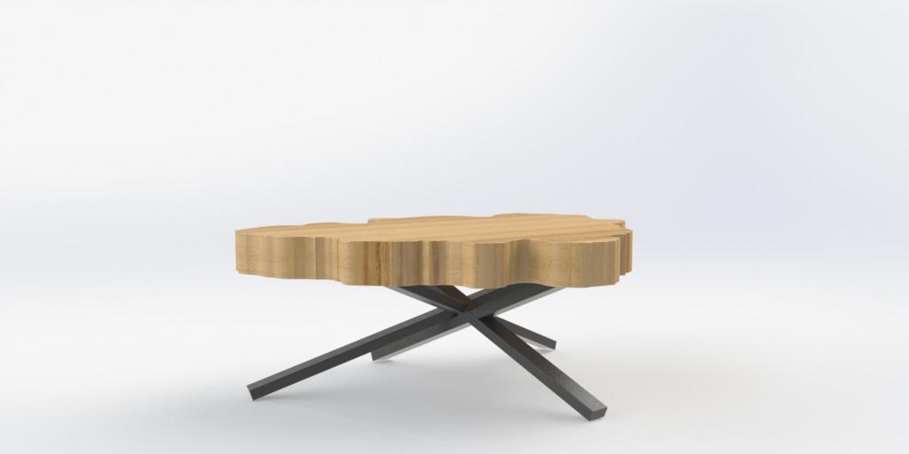 Y-Queffelec-table pieds2 vue droite