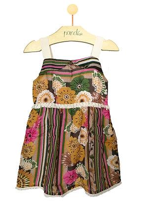 Vestido Listra Franja