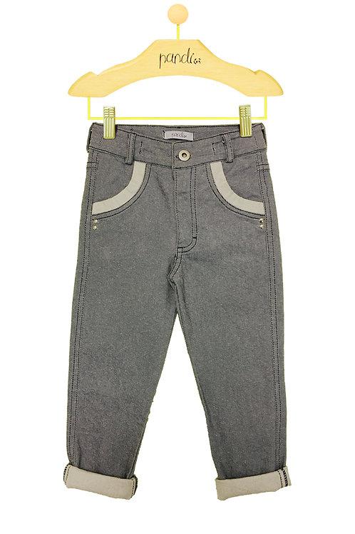 Calça Jeans Rebite
