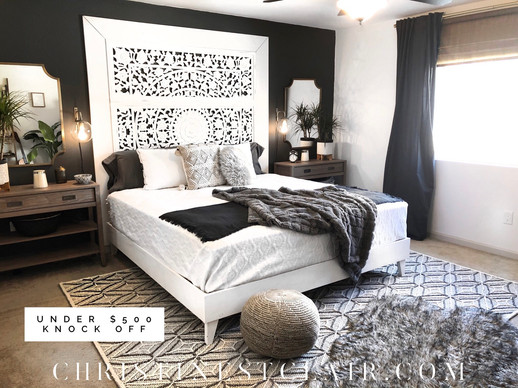 Master Bedroom Reveal!                        New Year, New Life!