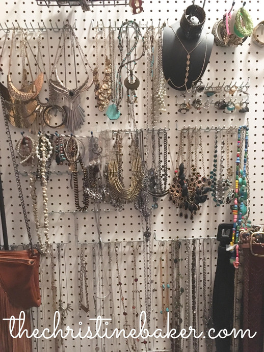 Diy Jewelry Wall Organizer idea for the fellow jewelry hoarders out there