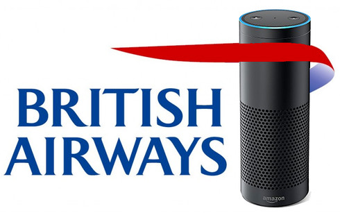 Alexa now works at British Airways