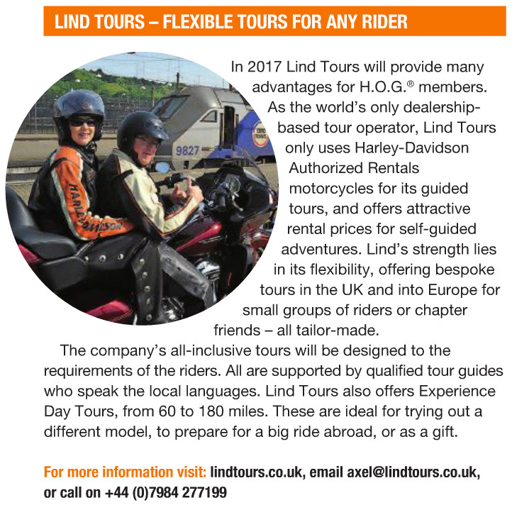 Keeping active at Lind Tours