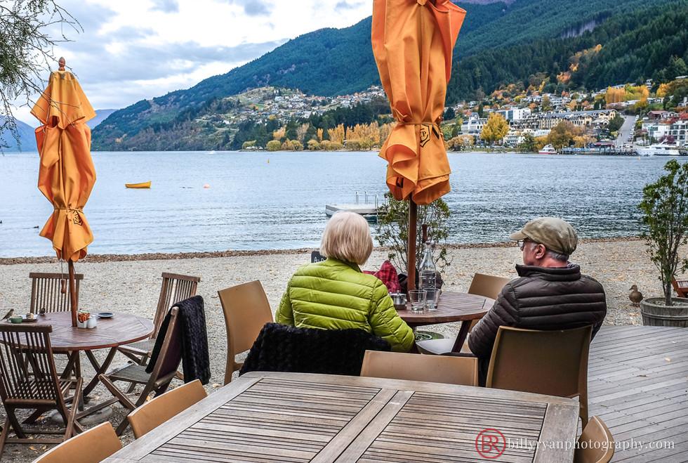 Cafe on Lake Wakatipu