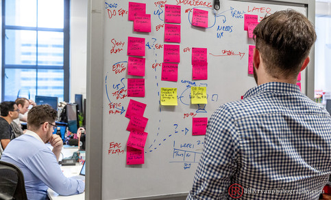 whiteboard-sticky-notes-corporate-office