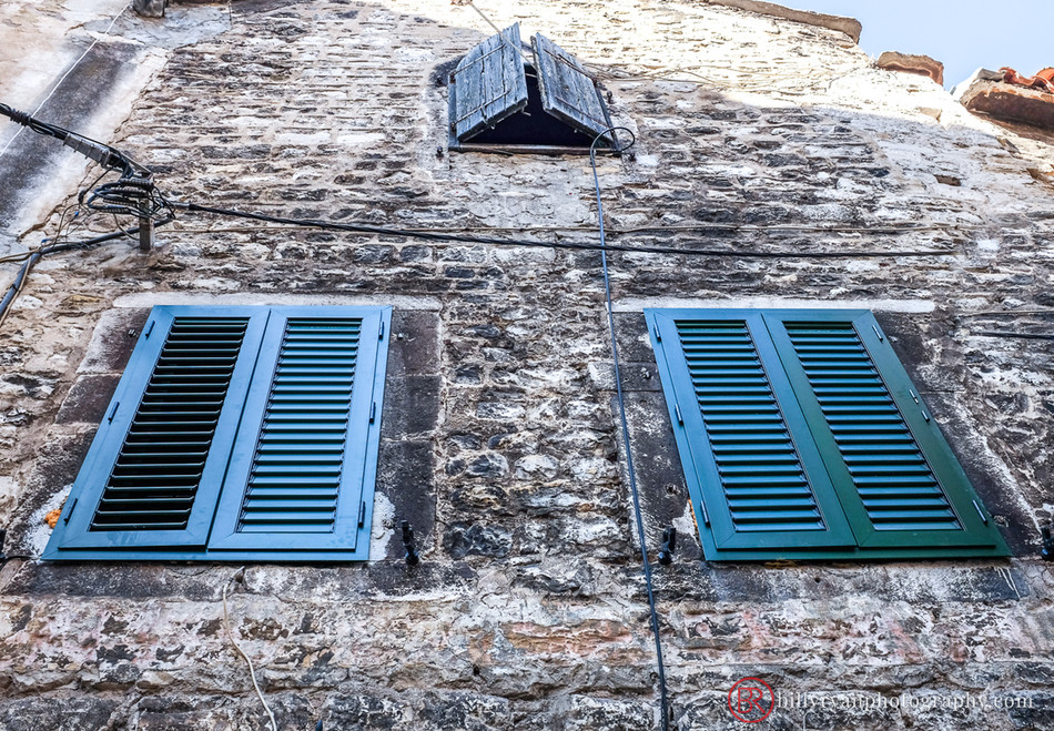 Shuttered Windows, Old Town