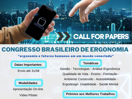 Call for Paper - ABERGO 2021