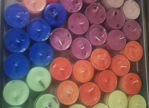 Loaded Tea Light Spell Candles