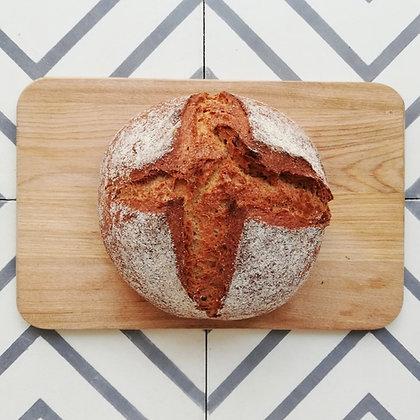 3 db Teljes kiőrlésű rusztikus kenyér - FAGYASZTOTT