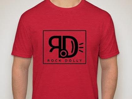 Men's Red on Black RockDolly Tee
