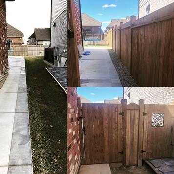New Fence Installation