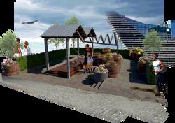 V&A Community Garden Visual