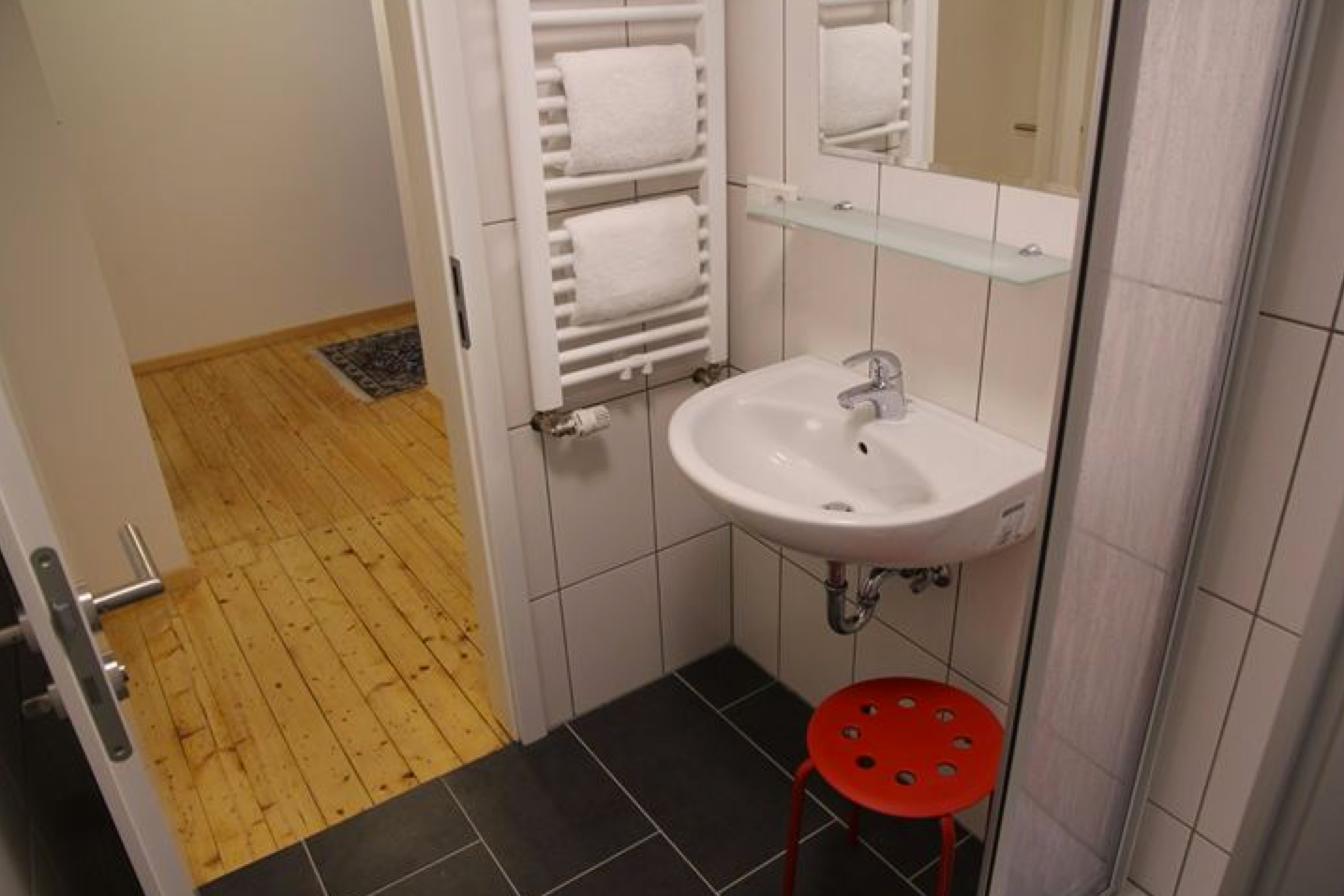 Badezimmer im OG mit Dusche