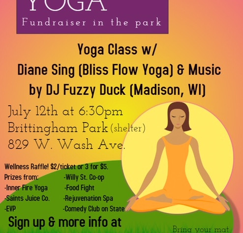 Recovery Foundation Yoga Event