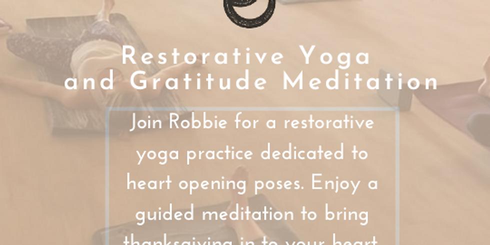 Restorative Yoga and Gratitude Meditation
