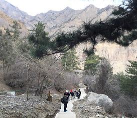 Climbing Helan Shan
