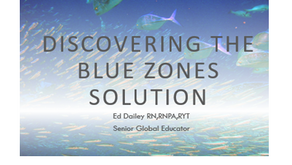 Discovering the Blue Zone Solution